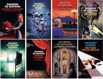 Le mie recensioni per 8 libri di Maurizio de Giovanni e 5 interviste