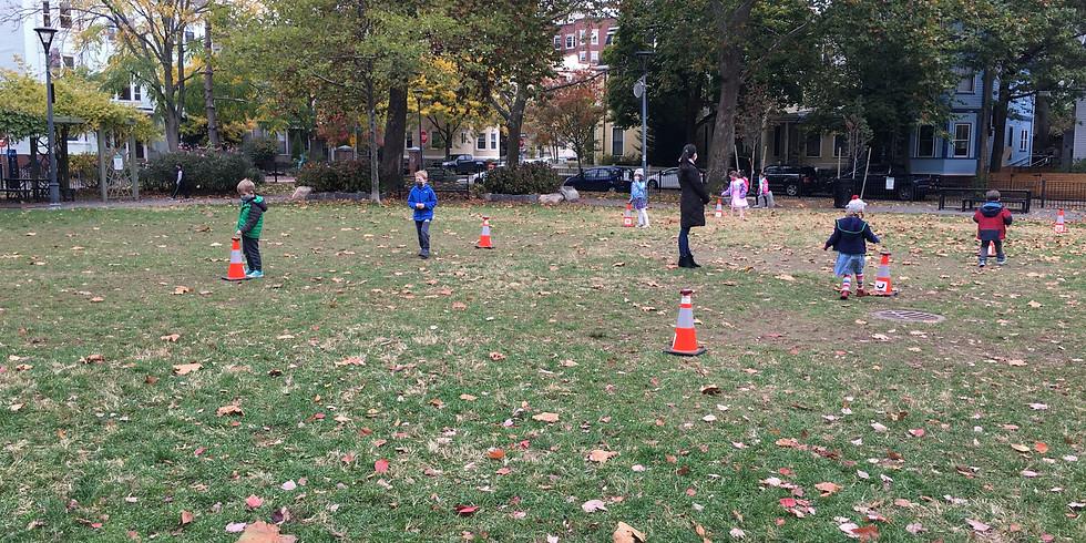 Orienteering Mini-Games #2 at Sennott Park