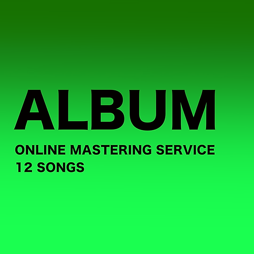 MASTERING - ALBUM (12 SONGS)