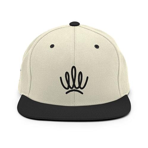 STANDARDS - Crown Snapback Hat Black Logo