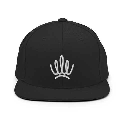 STANDARDS - Crown Snapback Hat - White Logo