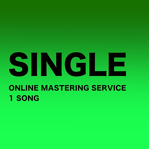 MASTERING - SINGLE (1 SONG)