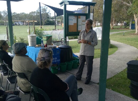 Brisbane City Council Compost and Worm Farm Workshop