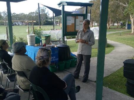 Brisbane City Council Compost and Worm Farm Workshop