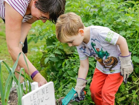 New Gardening Group for Under 5s