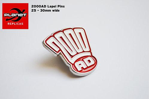2000AD Logo Pin