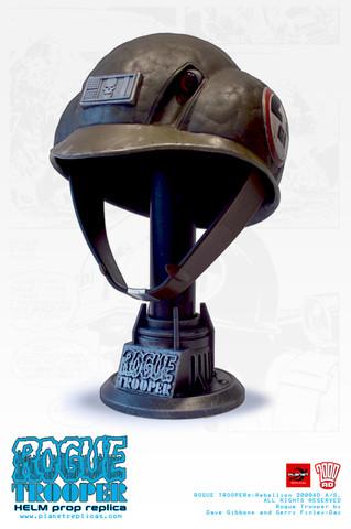 Rogue Trooper Helm Replica