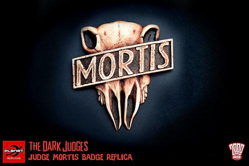 Judge Mortis Badge Replica