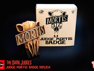 Judge Mortis badge replica