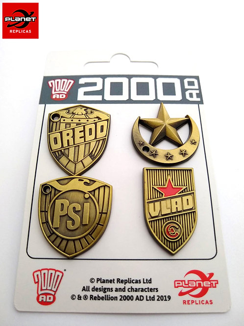 Judge Badge Pin Set