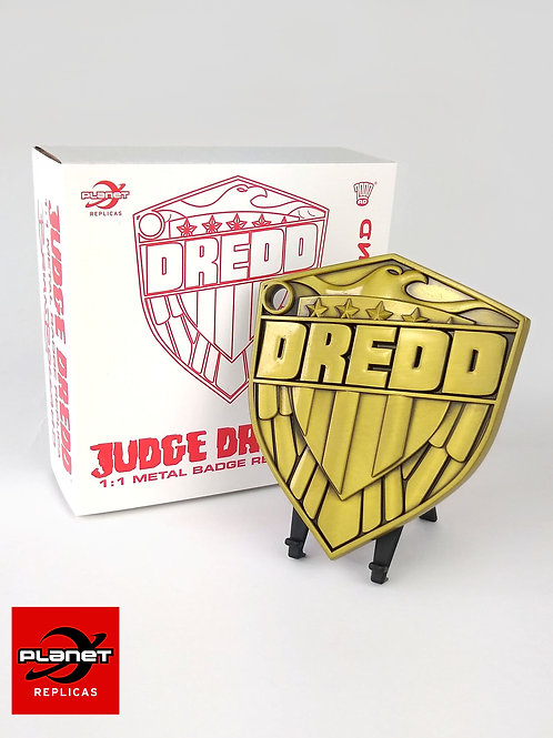 Bolland Metal Dredd badge 1:1 replica