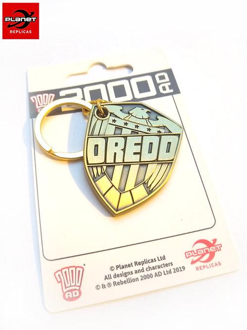 Carlos Dredd Comic Keychain