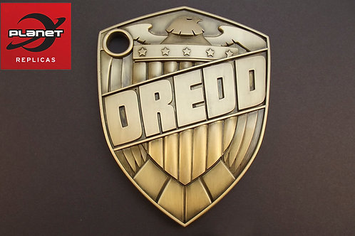 Carlos Ezquerra Metal Dredd Badge