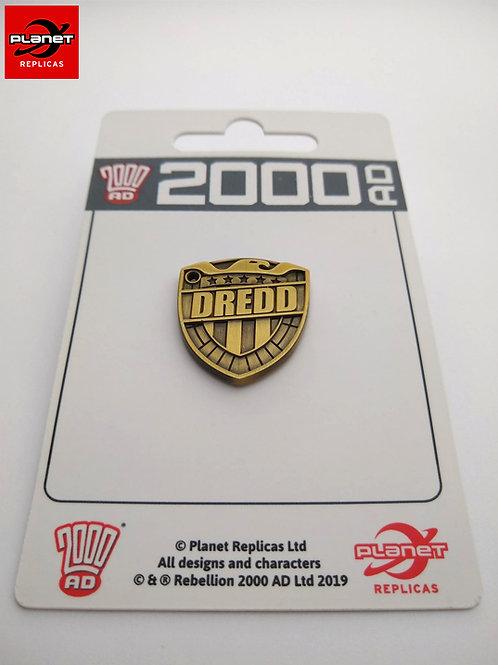 DREDD Badge  Pin