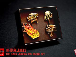 Dark Judges Pin Set