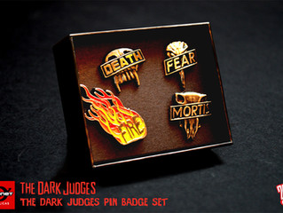 Dark Judges Pin Set