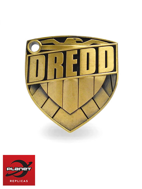 Metal 1:1 Dredd Badge styled by Jock