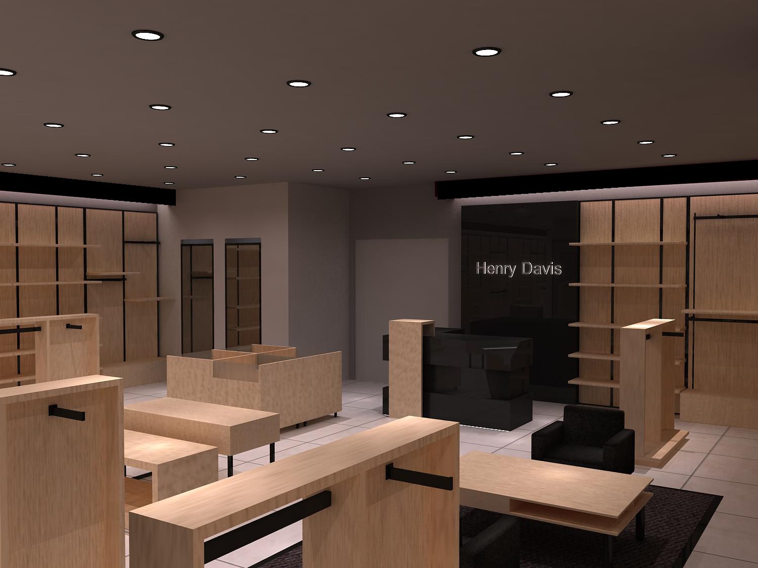 Interior Decoration of Two Shops
