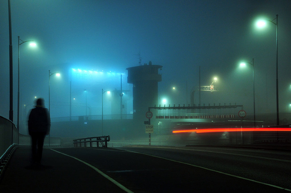 Tåget Aften