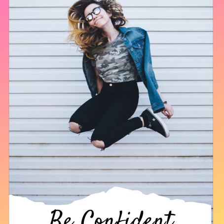 Be Confident with God!
