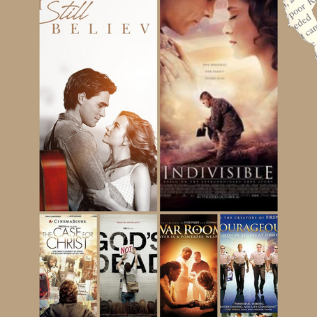 My Top 6 Christian Movie Picks!