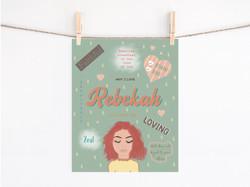 Rebekah-Women of the Bible print