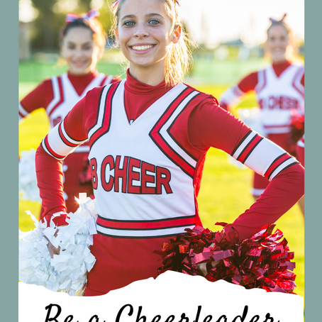 Be a Cheerleader like God!