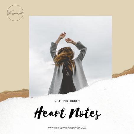Heart Words- Nothing Hidden