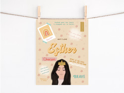 Esther-Women of the Bible Print
