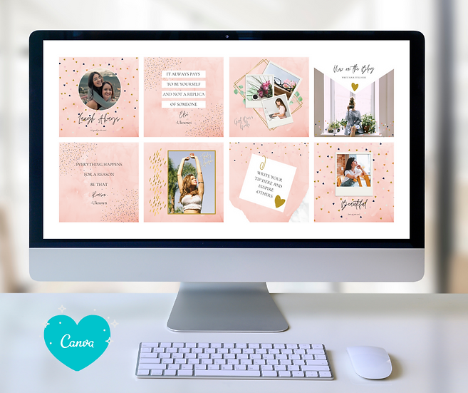 Pink Love Branding Kit