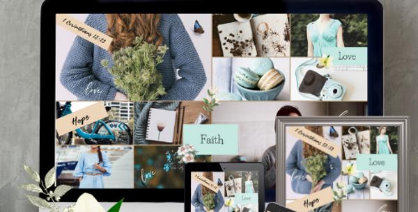 Faith, Hope, Love Wallpaper Pack