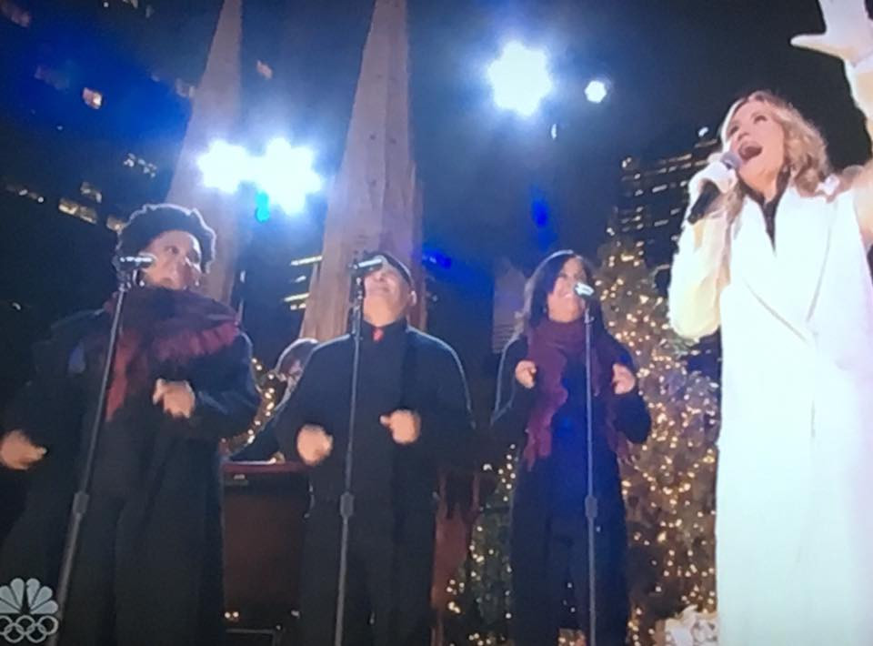 Rockefeller Christmas Tree Lighting NBC
