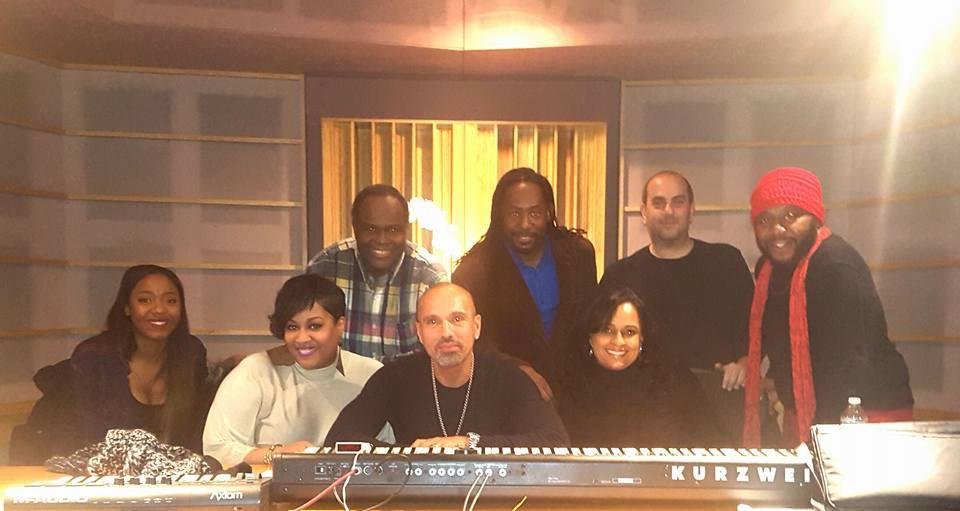 Dave Morales Recording Session