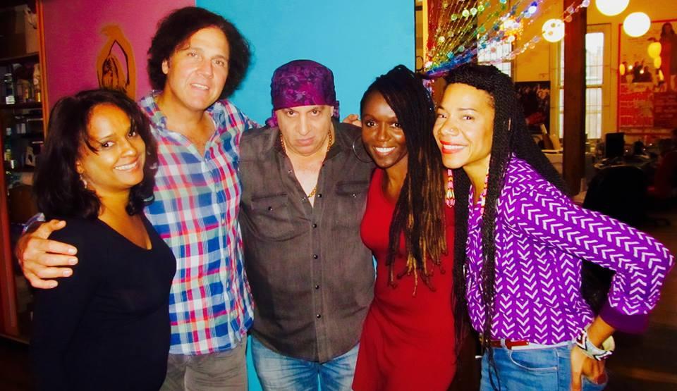 Lil' Steven Van Zandt & The Deciples of Soul Album Recording