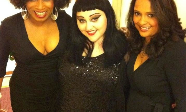 With Beth Ditto of Gossip