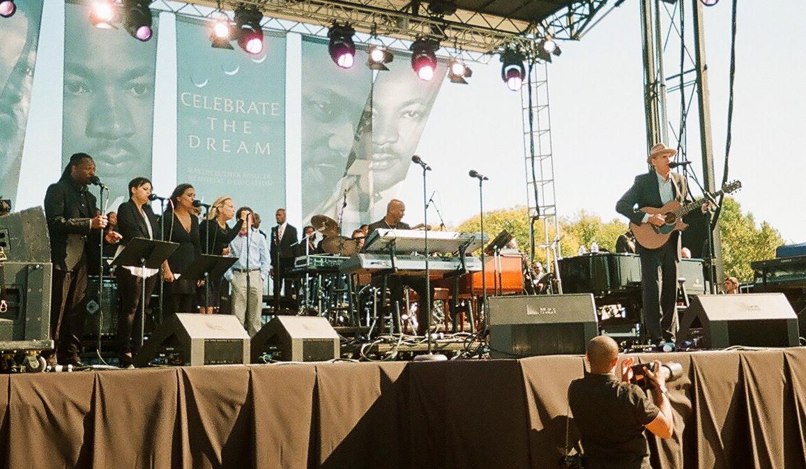 James Taylor Martin Luther King Jr. Memorial Celebration