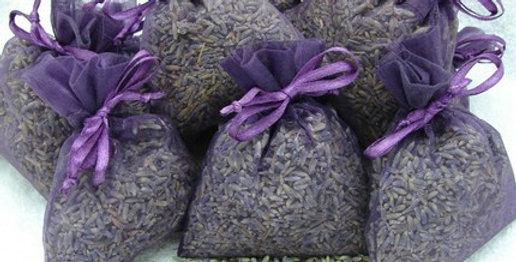 Lavender Filled Organza Sachets