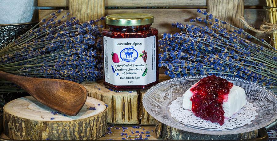 Spiced Lavender Jam