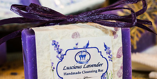 Luscious Lavender Handmade Cleansing Bar