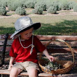 Little ones enjoy the Festival
