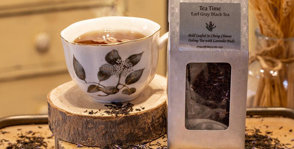 Tea Time - Black Oolong Tea with Lavender