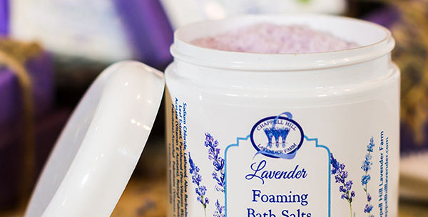 Foaming Lavender Bath Salts