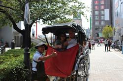 """Jinrikisha """"Rickshaw"""" Ride, Japan"""