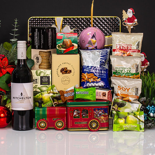 Santa Express with Wine