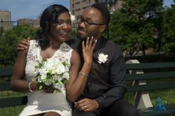 Nywele Styles bridal model makeup