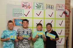 Proud Middle School Prevention Bulletin Board Creators