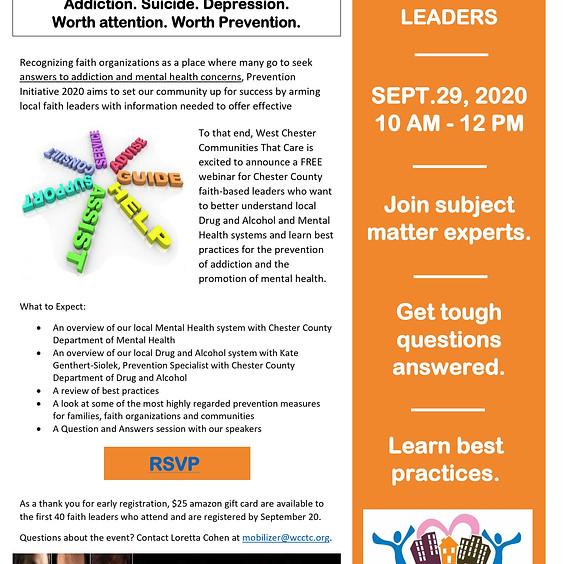 Prevention Initiative 2020