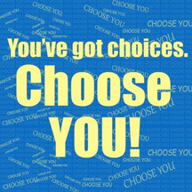 Choose YOU Instagram Post created by WC teens