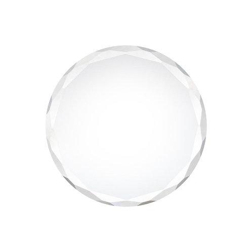 Pierre de cristal transparente
