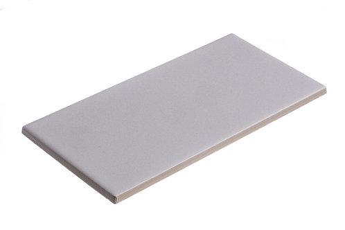 Plaque de céramique blanche